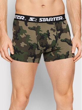 Starter Starter Súprava 2 kusov boxeriek SM-008-BD Zelená