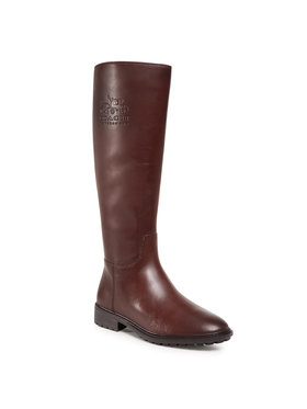 Coach Coach Bottes cavalières Fynn Leather Boot G5481 Marron