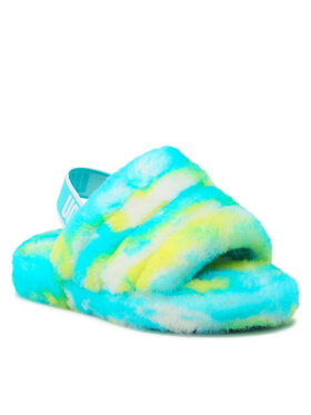 Ugg Ugg Тапочки K Fluff Yeah Slide Marble 1123636K Голубий