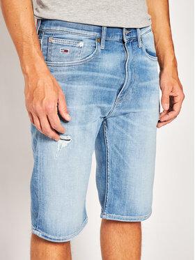 Tommy Jeans Tommy Jeans Džinsiniai šortai Rey DM0DM08041 Mėlyna Relaxed Fit