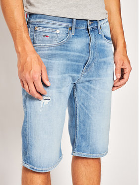 Tommy Jeans Tommy Jeans Pantaloncini di jeans Rey DM0DM08041 Blu Relaxed Fit