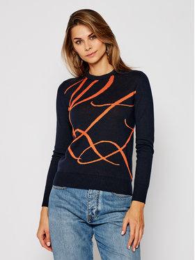 Lauren Ralph Lauren Lauren Ralph Lauren Sweater Ls Cn 200808256003 Sötétkék Regular Fit