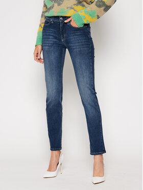 Calvin Klein Calvin Klein Jeansy Slim Fit Mid Rise K20K202409 Granatowy Slim Fit