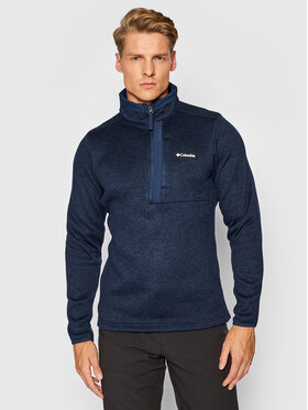 Columbia Columbia Sweatshirt Weather 1954111 Dunkelblau Regular Fit