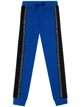 Calvin Klein Jeans Calvin Klein Jeans Jogginghose Colour Block IB0IB00866 Blau Regular Fit