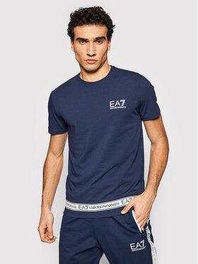 EA7 Emporio Armani EA7 Emporio Armani T-shirt EA7 EMPORIO ARMANI 3KPT05 PJ03Z 1554 Blu scuro Regular Fit