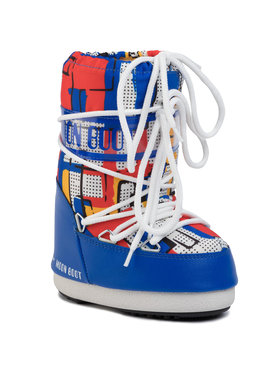 Moon Boot Moon Boot Stivali da neve Jr Boy Abstract 340018001 M Blu