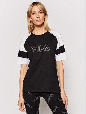 Fila Fila T-Shirt Jacklyn 683283 Μαύρο Regular Fit