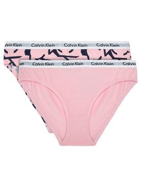 Calvin Klein Underwear Calvin Klein Underwear Sada 2 párů klasických kalhotek G80G800351 Růžová