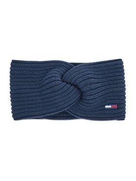 Tommy Jeans Tommy Jeans Opaska materiałowa Twj Ess Flag Headband AW0AW10706 Granatowy