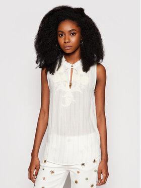 Desigual Desigual Μπλουζάκι Hanna 21SWBW80 Λευκό Regular Fit