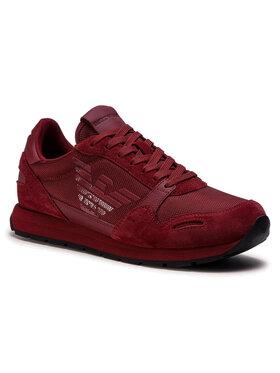 Emporio Armani Emporio Armani Sneakers X4X215 XL198 N059 Vișiniu
