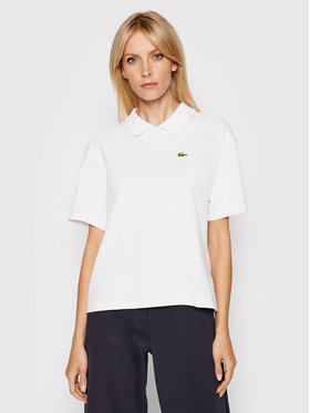 Lacoste Lacoste Polo PF0857 Blanc Boxy Fit