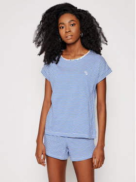 Lauren Ralph Lauren Lauren Ralph Lauren Pizsama 2 Pc ILN12057 Kék