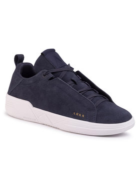 ARKK Copenhagen ARKK Copenhagen Sneakers Uniklass Suede S-C18 IL4604-0052-W Bleumarin