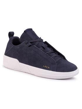 ARKK Copenhagen ARKK Copenhagen Sneakersy Uniklass Suede S-C18 IL4604-0052-W Granatowy