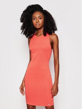 Armani Exchange Armani Exchange Sukienka codzienna 8NYA94 YJB3Z 1663 Pomarańczowy Slim Fit