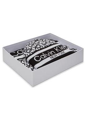 Calvin Klein Calvin Klein Zestaw Szalik i Czapka Beanie + Scarf J 30X180 K60K607276 Biały