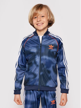 adidas adidas Sweatshirt Allover Print Camo Sst GN4128 Bleu marine Regular Fit