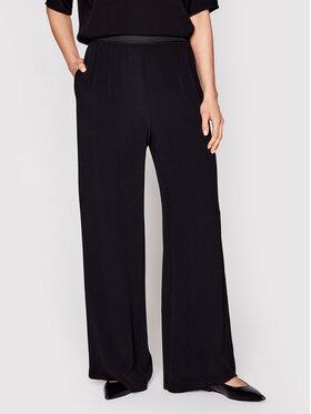 Samsøe Samsøe Samsøe Samsøe Текстилни панталони Nessie F16304320 Черен Regular Fit
