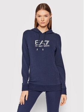 EA7 Emporio Armani EA7 Emporio Armani Sweatshirt 8NTM36 TJCQZ 1554 Dunkelblau Slim Fit