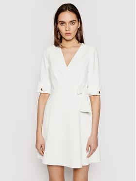 Marciano Guess Marciano Guess Sukienka koktajlowa 1GG743 9529Z Biały Regular Fit