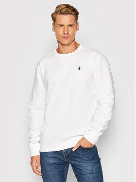 Polo Ralph Lauren Polo Ralph Lauren Sweatshirt Lsl 710766772009 Blanc Regular Fit