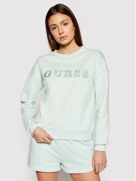 Guess Guess Džemperis Alene O1GA01 K68I1 Žalia Regular Fit