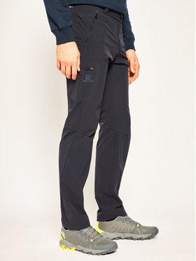 Salomon Salomon Spodnie outdoor Wayfarer L40407300 Granatowy Straight Fit