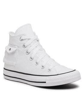 Converse Converse Sneakers aus Stoff Ctas Pocket Hi 167045C Weiß
