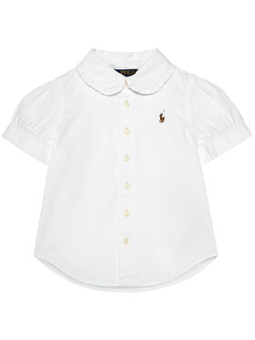 Polo Ralph Lauren Polo Ralph Lauren Cămașă Solid Oxford 312680346001 Alb Regular Fit