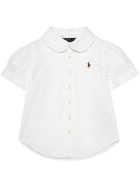 Polo Ralph Lauren Polo Ralph Lauren Koszula Solid Oxford 312680346001 Biały Regular Fit
