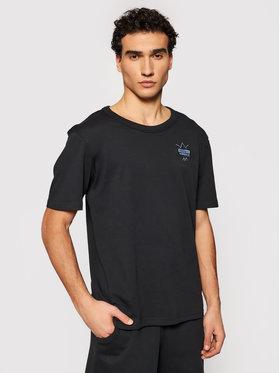 adidas adidas Tricou R.Y.V. Abstract Trefoil GN3283 Negru Regular Fit