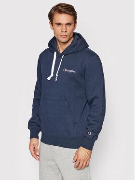 Champion Champion Sweatshirt Left Chest 216475 Dunkelblau Custom Fit