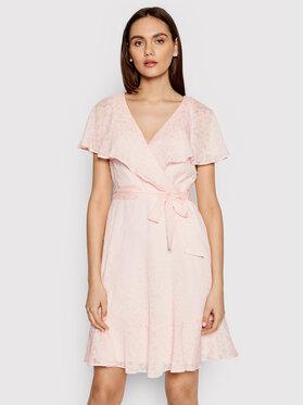DKNY DKNY Ежедневна рокля DD1BE436 Розов Regular Fit