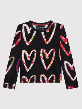 Desigual Desigual Блуза 21WGTK14 Черен Regular Fit