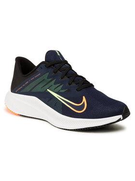 Nike Nike Boty Quest 3 CD0230 404 Tmavomodrá