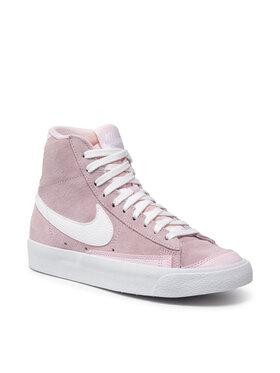 Nike Nike Buty Blazer Mid Vntg '77 DC1423 600 Różowy