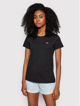 Levi's® Levi's® T-Shirt Perfect Tee 39185-0008 Czarny Regular Fit