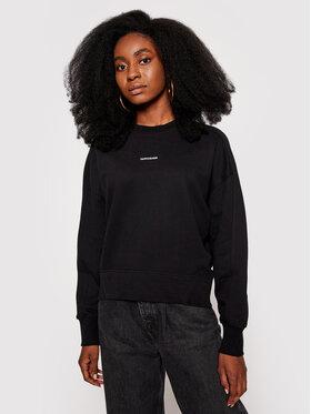 Calvin Klein Jeans Calvin Klein Jeans Majica dugih rukava Essentials J20J215463 Crna Regular Fit