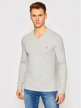 Guess Guess Marškinėliai ilgomis rankovėmis M1RI08 J1311 Pilka Super Slim Fit