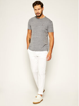Tommy Jeans Tommy Jeans T-Shirt DM0DM04413 Šedá Regular Fit