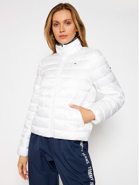 Tommy Jeans Tommy Jeans Geacă din puf Tjw Quilted DW0DW09933 Alb Regular Fit