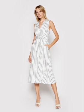 DKNY DKNY Sukienka koszulowa DD1B3166 Biały Regular Fit