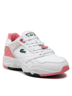 Lacoste Lacoste Sneakersy Storm 96 Lo 0121 1 Sfa 7-42SFA00121T4 Biela