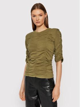 Gestuz Gestuz Bluză Arianagz 10905402 Verde Slim Fit