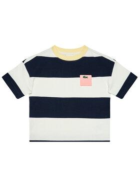 Lacoste Lacoste T-Shirt TJ0240 Σκούρο μπλε Regular Fit