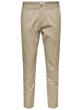 Only & Sons ONLY & SONS Текстилни панталони Cam 22016775 Бежов Regular Fit
