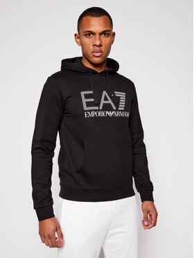 EA7 Emporio Armani EA7 Emporio Armani Bluza 3KPM62 PJ05Z 1200 Czarny Regular Fit