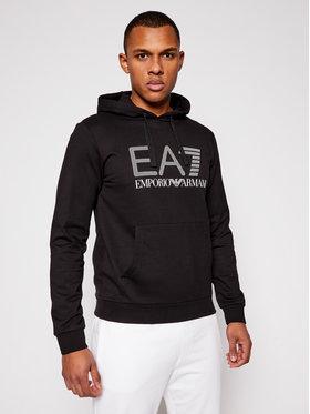 EA7 Emporio Armani EA7 Emporio Armani Bluză 3KPM62 PJ05Z 1200 Negru Regular Fit